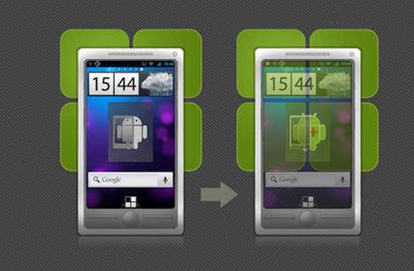 Transparent Phone Screen Apps
