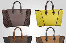 Luxurious Alphabetized Totes - The Louis Vuitton 'W Bag' Collection is Both Classic and Chic