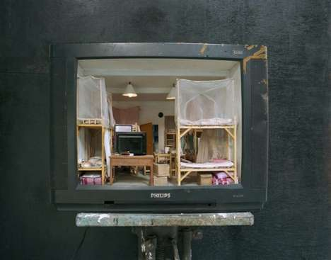 The Television Displays by Zhang Xiangxi Showcase His Past Life