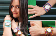 Time-Measuring Wrist Candy - Brit+Co's Watch Wrap Bracelets are a Useful Accessory Creation