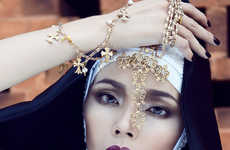 Modernized Religious Fashion - The Last Virgin by Elena Kuznetsova Stars a Nun-Like Hoang Oanh