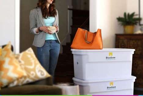 Trackable Storage Boxes