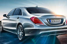Luxurious Limousine-Inspired Cars - The New Mercedes Benz S-Class is a Pampering Ride For Car Buffs