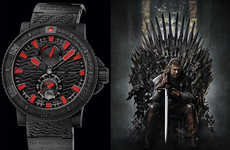 TV Series-Inspired Watches - The Ulysse Nardin Game of Thrones 'Night's Watch' is Sleek and Sombre