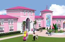 Life-Sized Barbie Houses - Berlin's Life-Sized Barbie Dream House is Set to Travel Europe