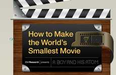 Minuscule Movie-Making Infographics - IBM Showcases How to Make the Smallest Movie Out of Atoms