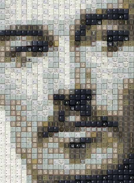 Celebrity Keyboard Portraits