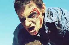 Undead Street Stunt Films - Zombie Parkour is an Action-Packed and Gruesome Free Running Video