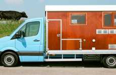 Rustic Barnyard RVs - The Tonke Camper Creates a Comfortably Rural Sleeping Environment
