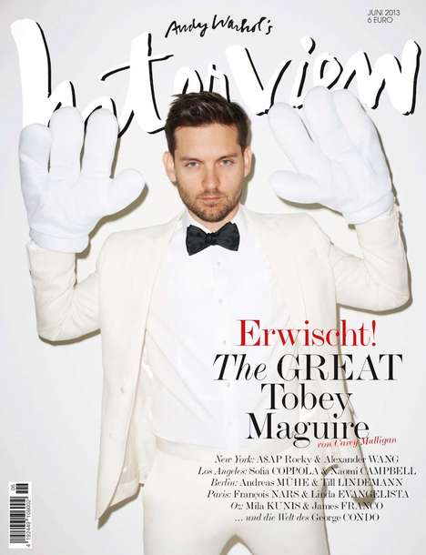 Playfully Dapper Celeb Covers
