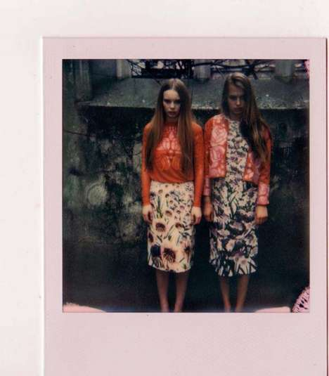 Eccentric Polaroid Editorials