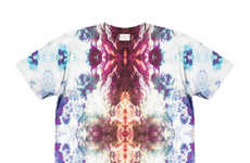 Kaleidoscopic T-Shirt Couture - This Collection of Statement Casuals From Ovidius is Visually Vivid