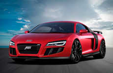 Supercharged Sports Car Upgrades - The ABT Audi R8 V10 Gives the Iconic Car More Power Than Ever