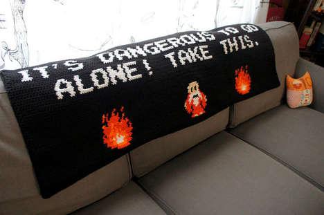 Retro Gamer Blankets