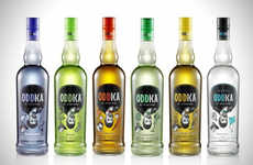 Eccentric Vodka Flavors - Oddka is a Brand That Specializes in Strange Vodka Flavors