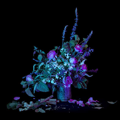 Witchcraft-Inspired Floral Sculptures