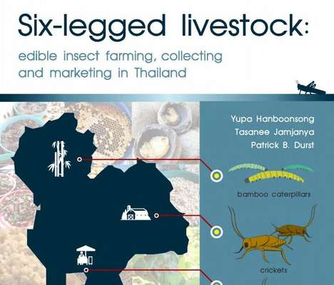 Edible Insect Guides - 'Six-Legged Livestock' Teaches the World About Edible Insect Farming