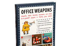 Cheeky Clerical Prank Books - The 'Office Weapons' Book is the Perfect Solution For Cubicle Boredom
