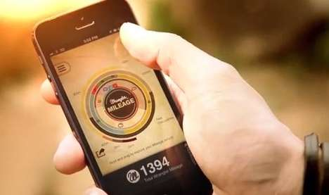 Adventure-Rewarding Apps - The Wrangler 'Mileage' Adventure App Tracks Adventures and Rewards You