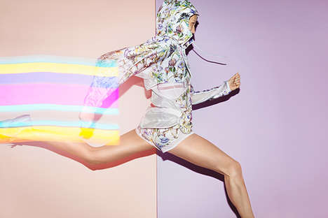 Electrically Feminine Sportswear