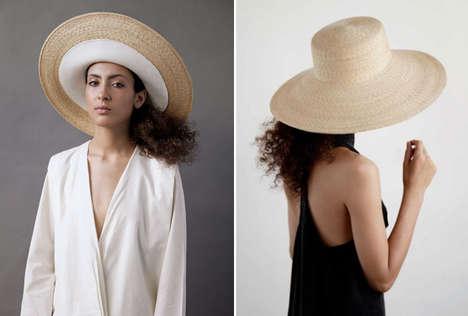 Oversized Straw Hats