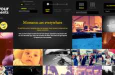 Moment-Sharing Apps - The 'Your Moments' App by Schweppes Makes the Mundane Beautiful