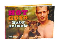Studly Animal Picture Books - The 'Hot Guys and Baby Animals' Book is Simultaneously Cute and Spicy