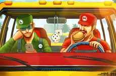 100 Geeky Gamer Illustrations