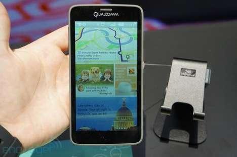 Solar-Powered Phone Screens