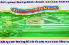 Visual Pregnancy Devices - TummyKickers Will Shake When You Feel the Baby Kicking