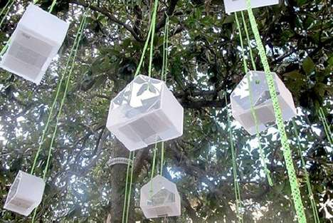 Suspended Tree Libraries