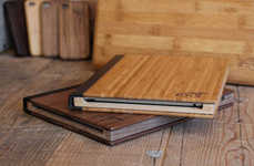 Timber Tablet Protectors - Wood iPad Cases by Root Cases Are Made from South Asiatic Bamboo Cane