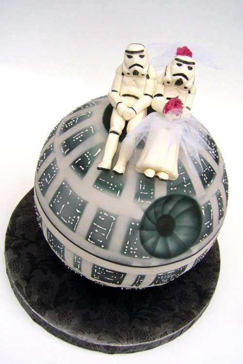 45 Geeky Wedding Cakes