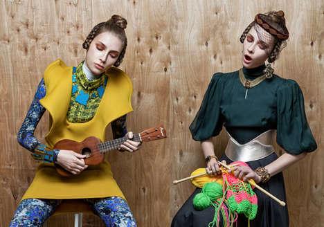 Edgy Folk Fashion