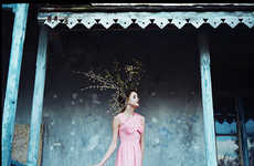 Quietly Dreamy Lookbooks - The Vaudeville & Burlesque SS13 Collection is Romantically Reflective