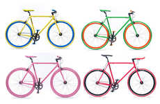 Colorful Customizable Bikes - The Mango Bikes Allow Consumers to Create Their Own Masterpiece