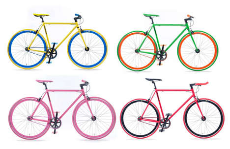 Colorful Customizable Bikes