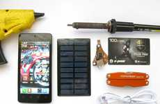 DIY Phone Chargers - This Solar-Powered DIY Phone Charger is Affordable and Easy to Make