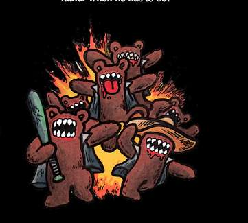 Villainous Stuffed Animal Illustrations