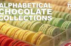 Alphabetical Chocolate Collections - Enjoy Custom Chocolate Creations at Nadege Patisserie Toronto