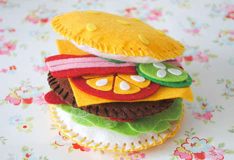 Crafty Material-Made Meals - Your Mouth Will Water at the Sight of the Felt Food from Cass Art