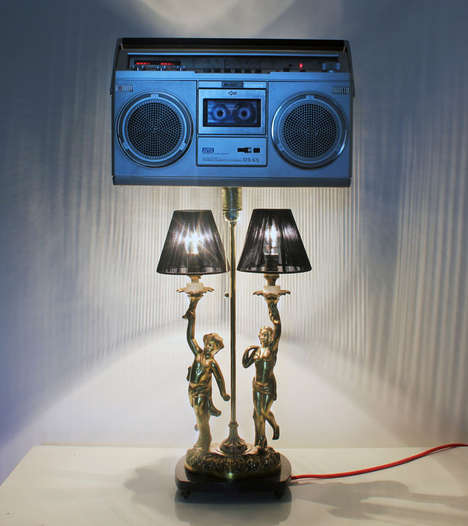 Light Bulb-Inspired Stereos