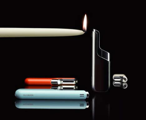 Futuristically Sleek Lighters