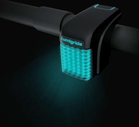 Futuristic Bike Headlights