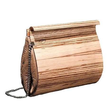 Sustainable Wooden Handbags
