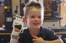 DIY Free-Sourced Prosthetics - These Prosthetic Hand Designs Will Help Out Any Family in Need