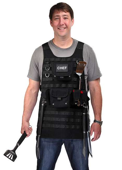 Heavy-Duty Cooking Vests