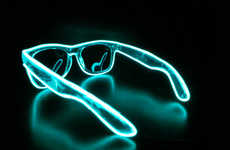 Light-Up Neon Shades - These Glowing Neon Shades are Perfect for Partying