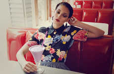 Flirty Retro Photography - The Highsnobette Berlin Diner Shoot Channels Vintage Styles for Spring