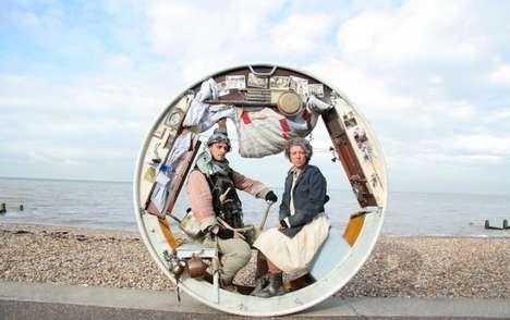 Traveling Wheel Acrojou Circus